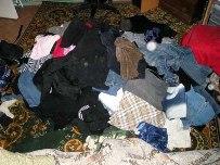 Шкаф не закрывается, а одеть нечего
